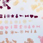 Motivkonfetti individuell Weihnachten Silvester