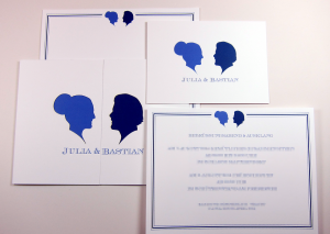 Wedding card Lasercut _ pixelated